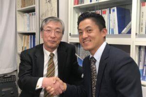ビーチテニス・郷田哲選手がユニカ食品に来社いたしました!