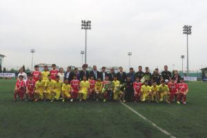 U-15ベトナム・日本 親善サッカー大会ユニカルカップに協賛しました