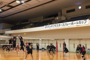 ジャパンデフマスターズバレーボールカップ大会にご協賛いたしました!